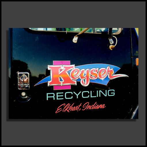 keyser recycling truck door