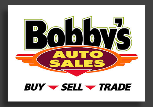 Bobbys Auto Sales >> The Graphics Factory Retail Business Design Examples